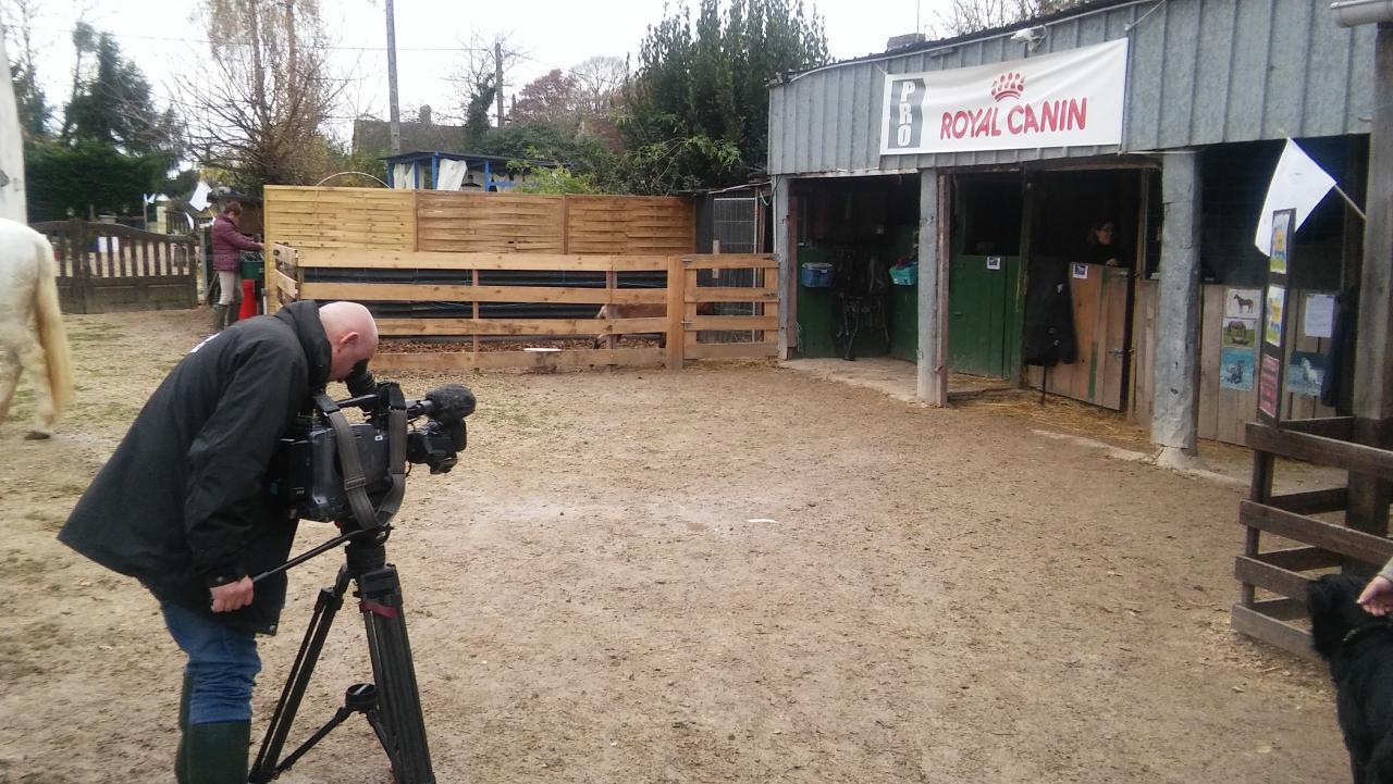 tournage de quelque scene